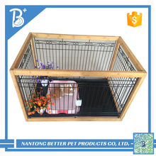 Factory low price large pet dog cages outdoor dog house