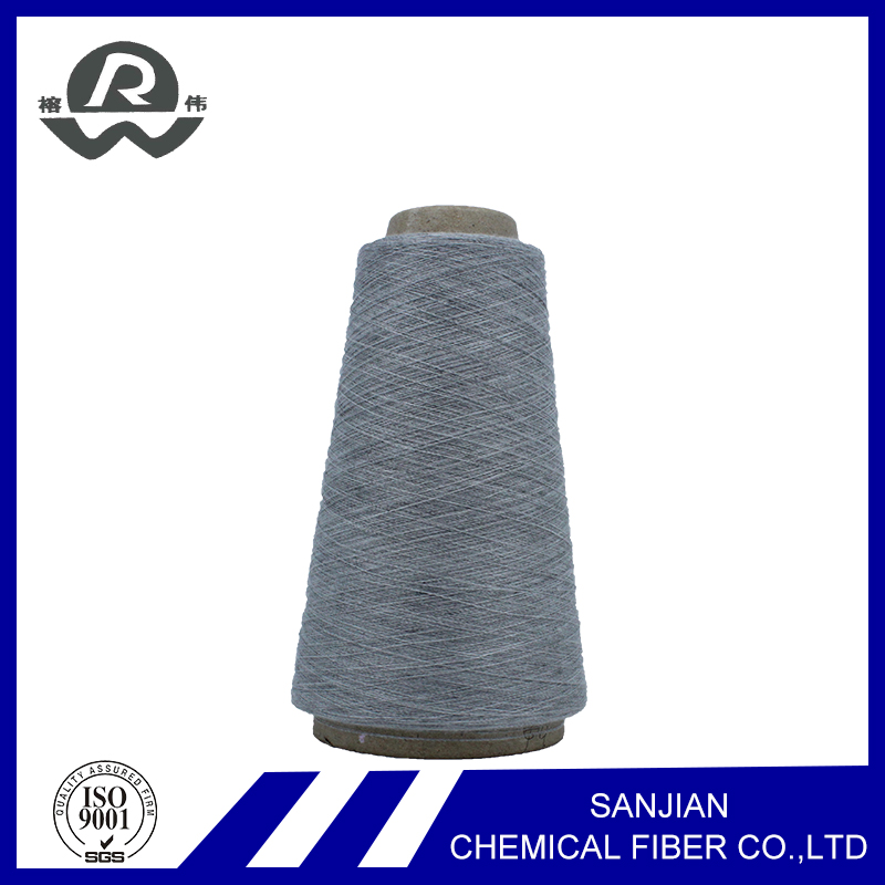 100% E-co Friendly Poliester Wholesale China T-shirt Yarn Recycled Yarn