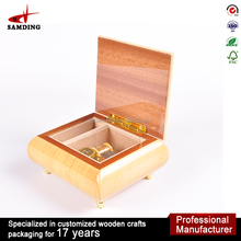 Top Quality Custom Made Gift Boxes Antique Wooden Music Box