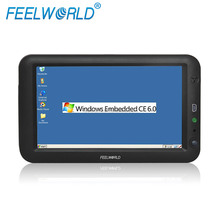 FEELWORLD Embedded winCE/Linux optional 7 inch Industrial Resistive touch panel All in one PC