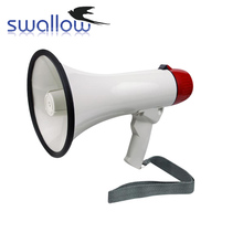 Easy To Use Portable Loudspeaker Talk/Siren/Record(8Seconds) Megaphone With Microphone