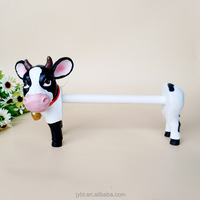 creative cartoon cow toilet paper holder china modern home decoration wholesale pieces