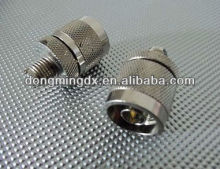 N male to Mini UHF female coaxial connector adapter