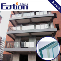 Good Quality Laminated Glass Railing Glass China Supplier