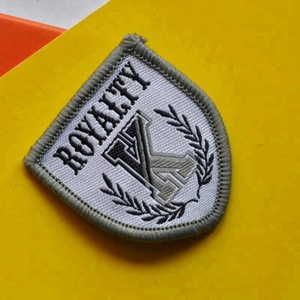 2019 new colorful garment woven patch, embroidered patch,woven label