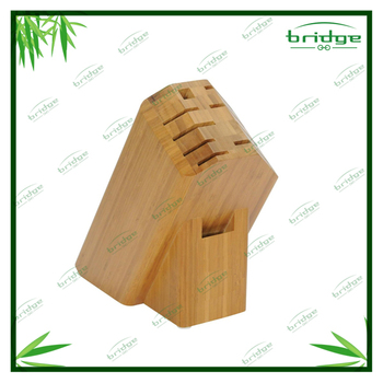 New Kitchen Bamboo knife block
