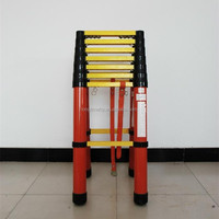 FRP GRP Fiberglass extension ladder used in Electric power industry