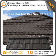 Distinct Stone Coated metal roofing sheet factory price roofing tiles in Guangzhou China