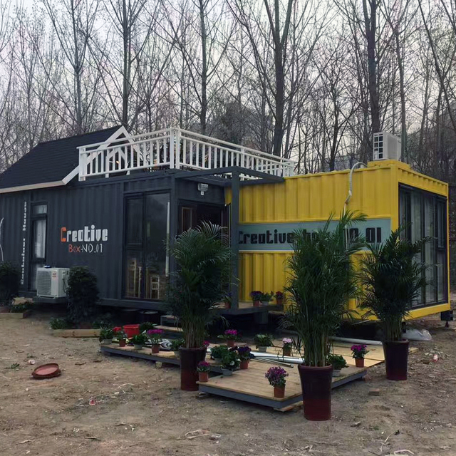 CE Certified living shipping container homes with competitive price