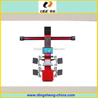 Diagnostic machine for cars wheel alignment, 3d factory wheel aligner DS6