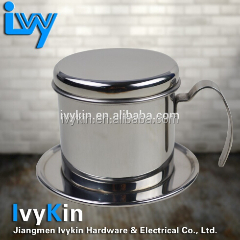 stainless steel vietnam drip coffee maker/coffee maker vietnam