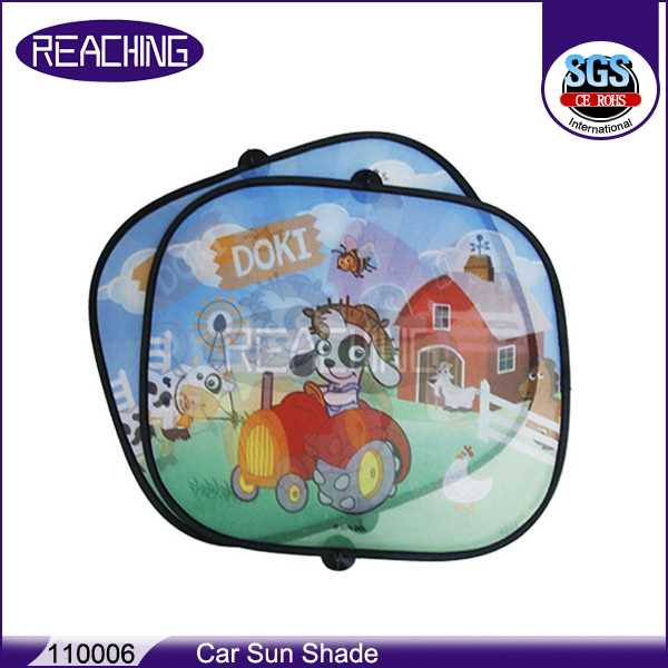 Steady Product Quality New Design Advertising Car Sun Shade
