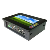 High performance touchscreen panel PC with 4*USB 2.0 and 4*COM