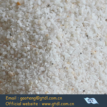 good hardness pure bulk density silica sand