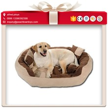 High quality eco-friendly soft cotton pet bed