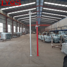 Heavy duty shoring scaffolding steel adjustable tubular poles for construction