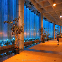 Professional fiber optic waterfall curtain lights from factory