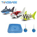Remote Control Toy Shark With Blister Pool Rc Boat Fishing