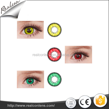 wholesale contact lens cosmetic color halloween design contact lenses - Contact Lenses Color Halloween