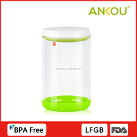 Custom Logo Reusable Food Storage Container With Lids/Airtight Glass Rice Storage Box