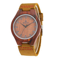 Custom Watch Manufacturer Redsandal Wood Watch