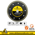 Turbo Waved Super Thin Diamond Blade for Cutting Marble