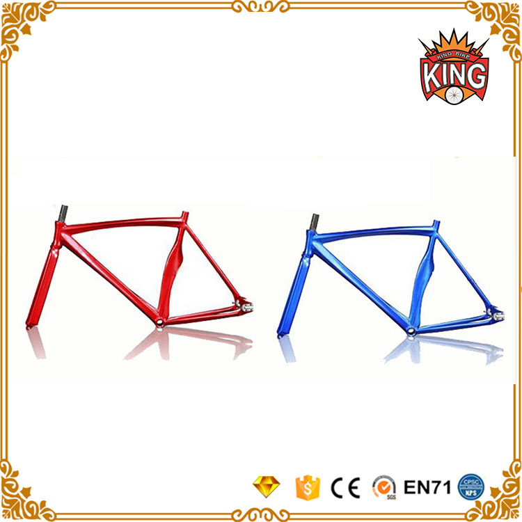 china alloy frame and fork road fixie aluminum bicycle frame