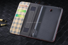 card holder case for samsung tab 3 7.0 stand case,Protective for samsung galaxy tab 3 p3200 PU leather case