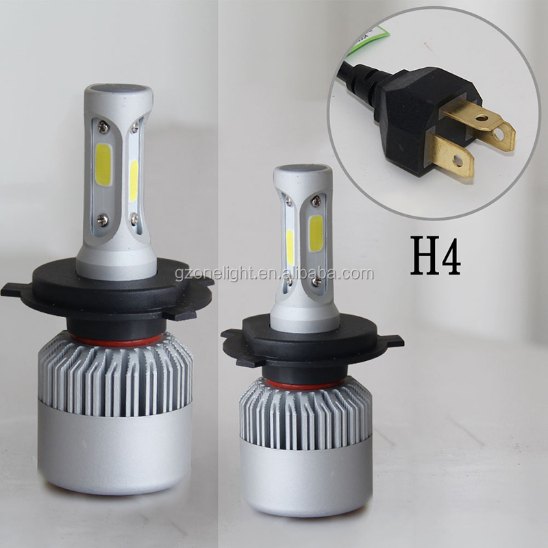 Wholesale Super Bright Led H4 H11 Three Side Imported Fan 8000lm Headlight Bulb h7 Led