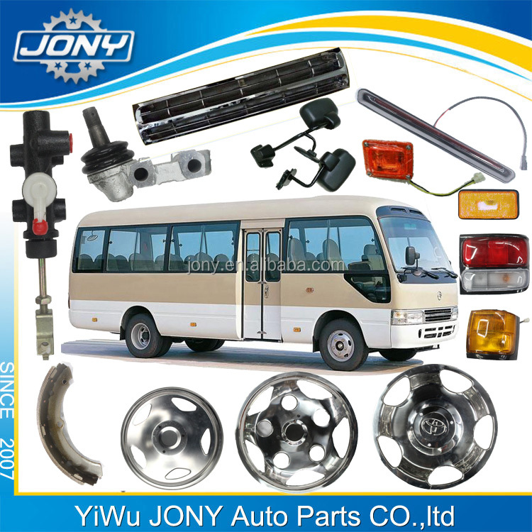 Auto spare parts for Coaster bus body parts