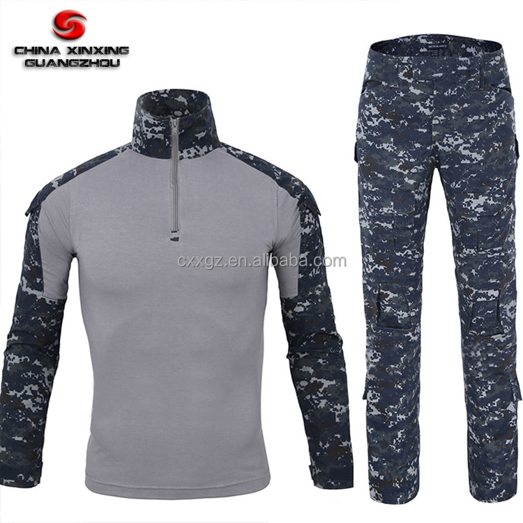 Military Army Force Men Tactical Combat Frog Suit Shirt Pant Uniform Clothing