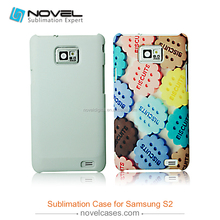 diy mobile phone shell for galaxy S2,3d sublimation blank