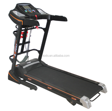 new home folding commercial gym treadmill 1.25 DC with 7 inch LCD motorized treadmill