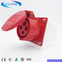 Electric 32 Amps Waterproof Industrial Socket