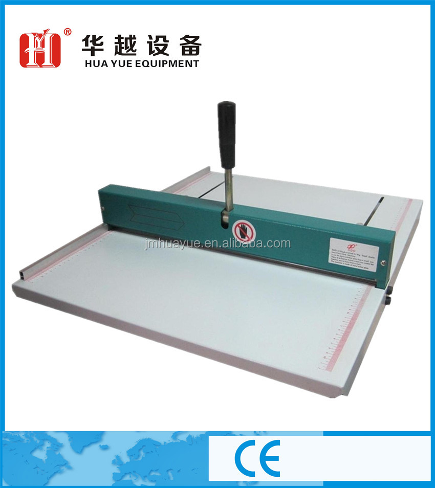 manual paper creasing cutting machine