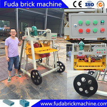 QT40-3B retaining wall block machine concrete block machine for sale