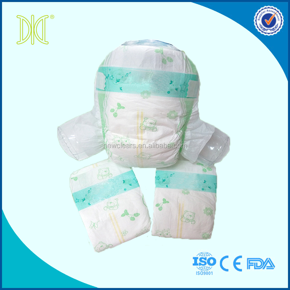 china factory directly sell disposable lovely happy nappy diapers for baby