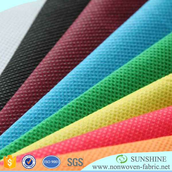 PP Spunbond Non woven Manufacturer/Colorful Nonwoven/Recycled Nonwoven Fabric