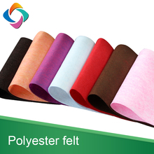 Polyester felt materials needle punch nonwoven PET fabric
