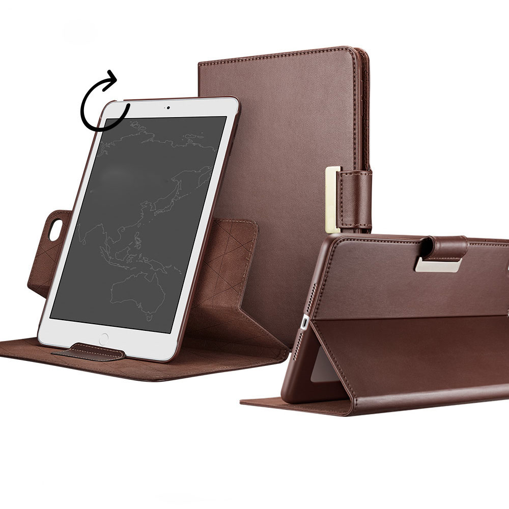 Case for iPad mini 4 Business PU Leather 360 degree rotating Auto Wake/Sleep Stand Rotating Case for iPad mini 4