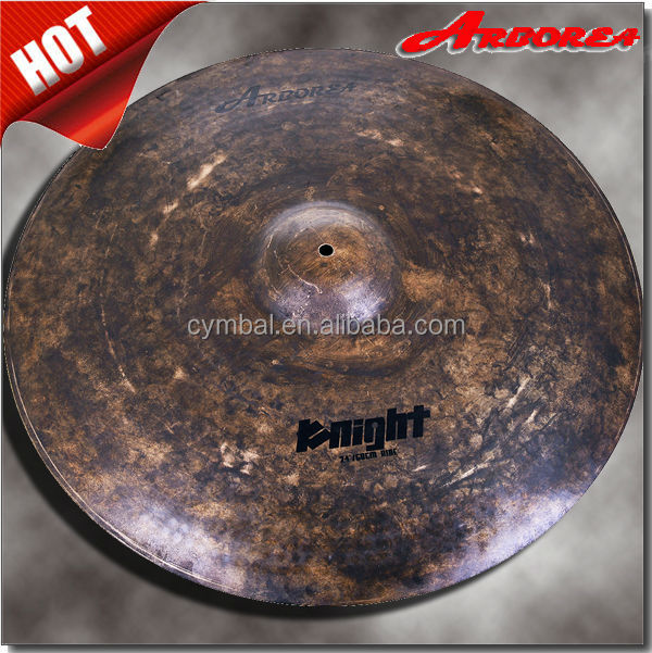 "Arborea cymbal-Knight series 24"" drum cymbal from china"