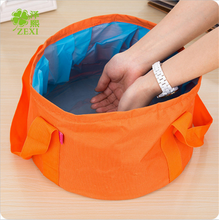 Foot Bath Basin Wash Their Laundry-folding Portable Outdoor Tourism Water Bags