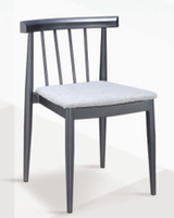Wholesale Cheap Steel Industrial Retro Cafe Metal In Restaurant Chairs