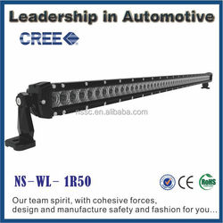 New products Nssc auto parts 12 volt super efficient 52inch / 50 inch wholesale cree led light bar 4x4 for offroad car