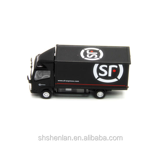 Alloy miniature scale 1:64 die cast metal van model