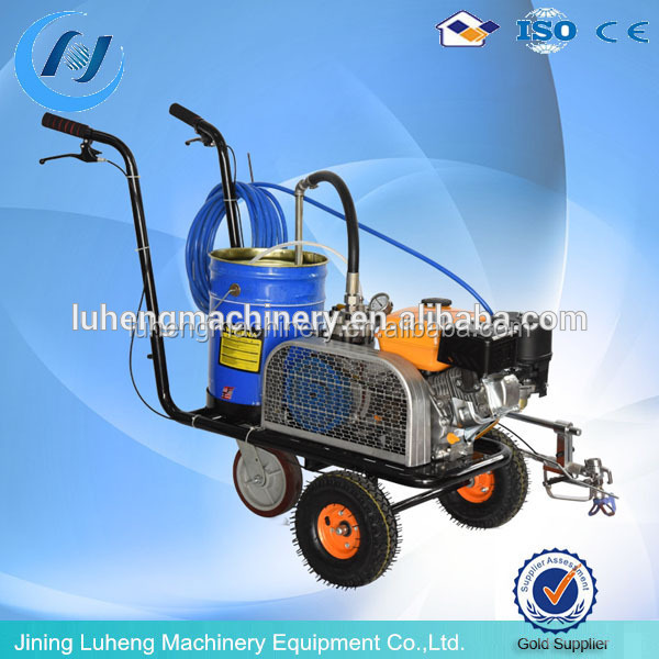 Protable Asphalt pavement marker line cleaning machine,road marking machine for running track/whatsapp:+8613678678206