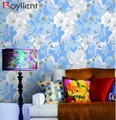 2017 New and hot selling pvc floral wallpaper for home decoration