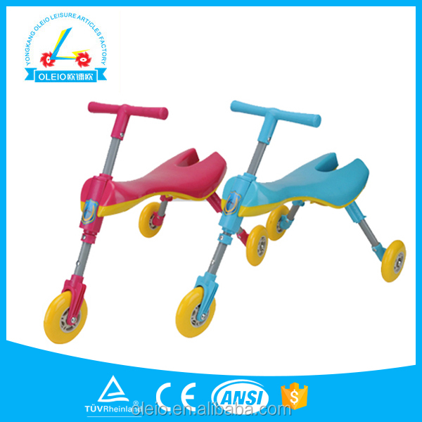 New Children Swing Car, KIids Three Wheel Scooter