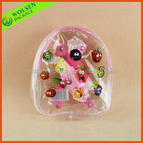 2015 Promotion clear bag, PVC toy bag