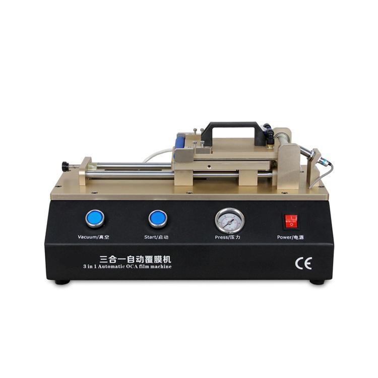Built-in Vacuum Pump LCD OCA Film Laminating Machine OCA Laminator for iPhone 6 6 Plus Samsung LCD Screen, Non-air compressor